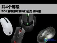 共4个等级 ZOL发布游戏鼠标行业分级标准