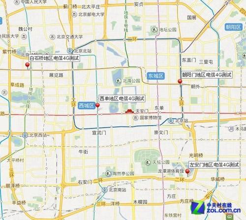 编辑京城实地亲测 电信4G网速究竟如何