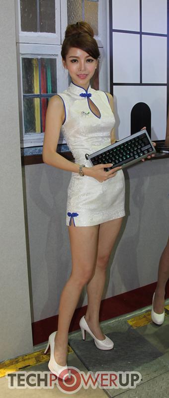 台北电脑展又一大波妹子来袭 130张ShowGirl美图一网打尽的照片 - 52