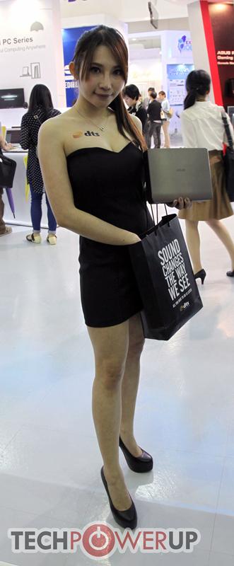 台北电脑展又一大波妹子来袭 130张ShowGirl美图一网打尽的照片 - 106