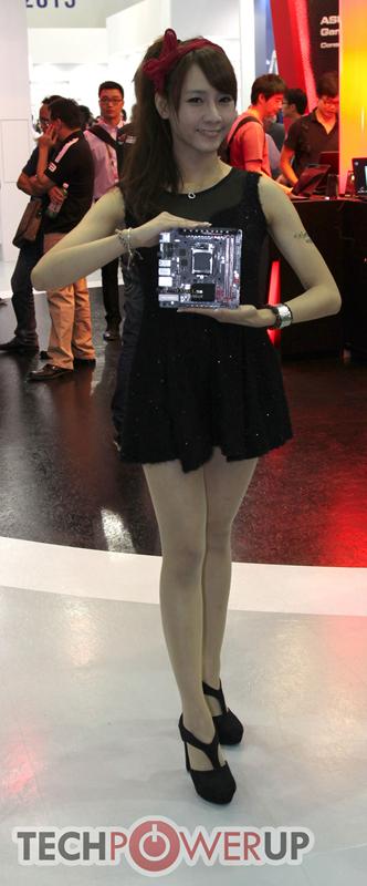 台北电脑展又一大波妹子来袭 130张ShowGirl美图一网打尽的照片 - 111