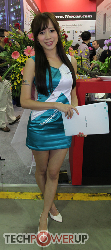 台北电脑展又一大波妹子来袭 130张ShowGirl美图一网打尽的照片 - 3