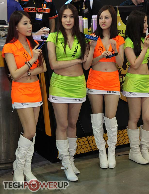 台北电脑展又一大波妹子来袭 130张ShowGirl美图一网打尽的照片 - 29