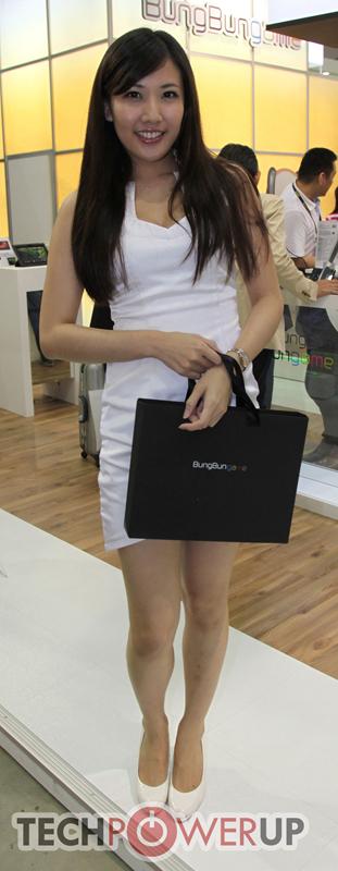 台北电脑展又一大波妹子来袭 130张ShowGirl美图一网打尽的照片 - 12