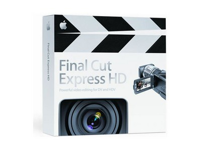 苹果 Final Cut Express HD