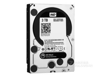 西部数据3TB 7200转 64MB SATA3 黑盘(WD3003FZEX)