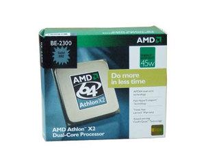 AMD 速龙64 X2 BE-2300(盒)