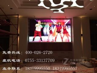 聚鑫光彩PH4室内三合一表贴全彩屏 LED显示屏