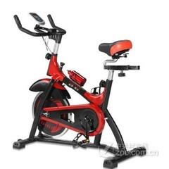 高乔动感单车超静音健身车家用脚踏车室内阻力自行车运动健身器材高端豪华款/法拉利红