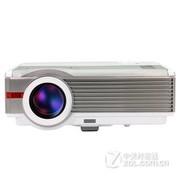 EUG X99 led投影仪家用高清 无线wifi影院KTV/小会议投影机 经典标配版