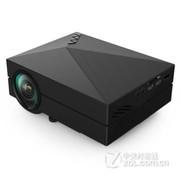 业王 GM60手机投影仪 投影机 家用高清微型投影仪 迷你 便携 电脑 笔记本 黑色 送VGA  高清线 套餐四