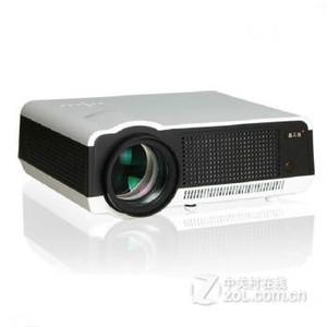 轰天砲(Poner Saund)LED-86+家用投影机 投影仪办公WiFi+1080P 黑色 套餐三