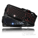 标王X6键帽红光背光键盘(黑色)