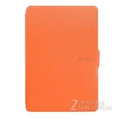 莺宝亚马逊kindle paperwhite 休眠皮套 kpw一二代保护套保护壳 橘子橙 Kindle 499元款