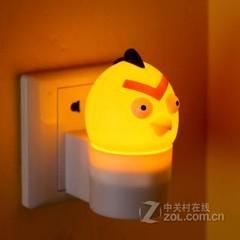 银之优品愤怒的小鸟小夜灯 尖头小鸟黄色