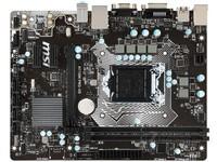 MSI/微星 h110m PRO-A 全固态台式机电脑主板 LGA1151
