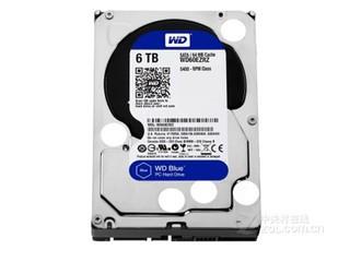 西部数据蓝盘6TB SATA6Gb/s 64M(WD60EZRZ)