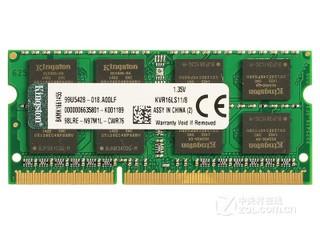 金士顿低电压版 8GB DDR3 1600(KVR16LS11/8)