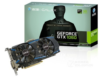 影驰GeForce GTX 1060黑将