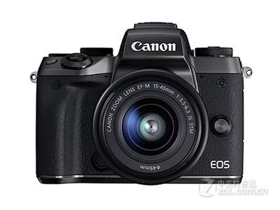 新款上市!佳能 EOS M5套机(15-45mm IS STM) 批发价售4988元!