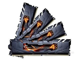芝奇Ripjaws4 16GB DDR4 3000(F4-3300C16Q-16GRK)