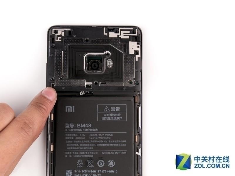 小米Note 2(高配版/全网通)专业拆机