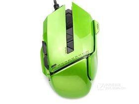 贝戋马户007 坐骑有线游戏鼠标 幻彩绿