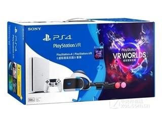 索尼PS4 PS VR虚拟现实乐园套装白色版(PCCS-70028/500GB)