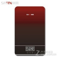 赛腾/saiteng 即热式电热水器淋浴  智能变频恒温 自动记忆 可选安装SAT-K85 红色 不包安装