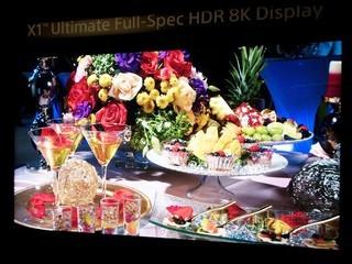 索尼HDR 8K电视