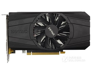 索泰GeForce GTX 1050Ti-4GD5 雷霆版 SM