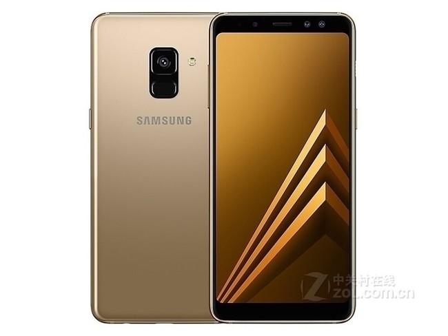 三星(SAMSUNG) Galaxy A8 A8+(2018 ) 智能手机 新款 兰花灰色 A8
