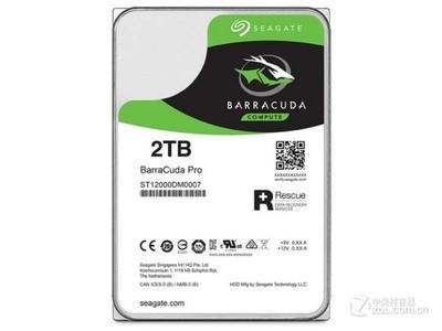 希捷 BarraCuda Pro 2TB 7200转 128MB(ST2000DM009)