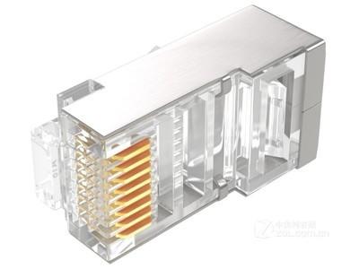 慧腾 六类屏蔽水晶头(HT2002-6P)