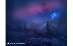坚果R1极限目击蓝色火焰