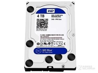 西部数据4TB 5400转 64MB SATA3 蓝盘(WD40EZRX)