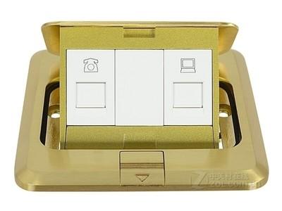 跃图 金属地板信息插座ME-1022