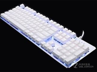 迪士摩G800白色青轴RGB版机械键盘