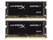 金士顿 骇客神条Impact 16GB DDR4 2666(套装)