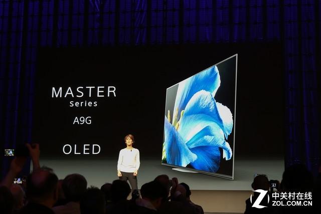 OLED旗舰A9G 索尼CES2019电视新品亮相