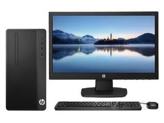 惠普288 Pro G4 MT(i3 8100/8GB/128GB/DVD/集显/23.8LED)