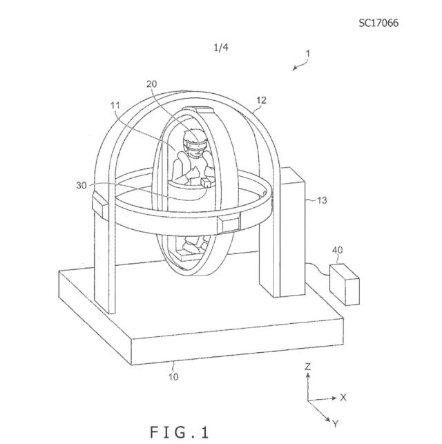 """索尼新专利VR""""旋转椅""""现身:身临其境"""