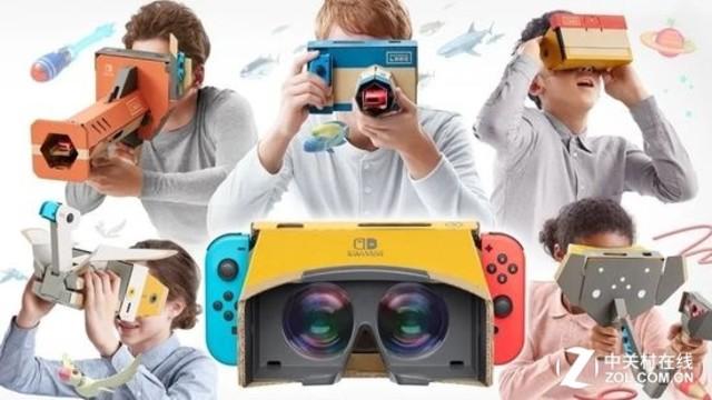 两款神作支持VR 任天堂Labo逆天操作!
