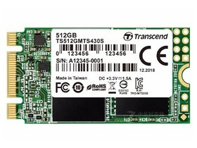 创见MTS430S(512GB)