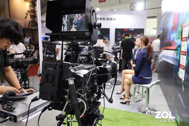 BIRTV 2019:JVC展台的多款热销4K摄像机
