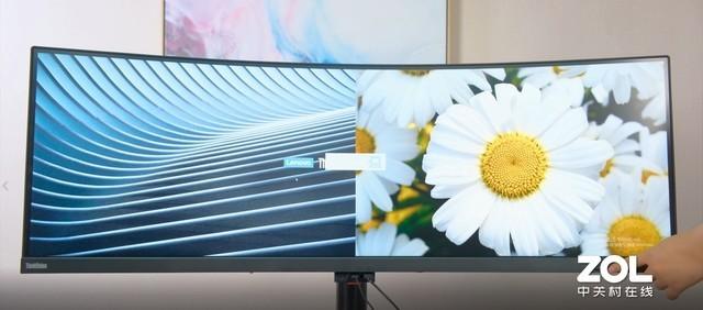后多屏时代的专业办公新选择 联想 ThinkVision P44w