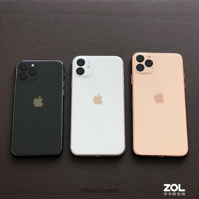 iPhone 11为了这个将背面Logo设计在正中间