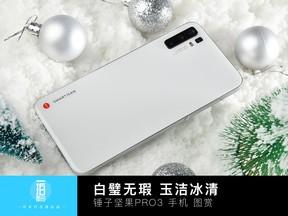 白璧無瑕 玉潔冰清 錘子堅果PRO3手機圖賞