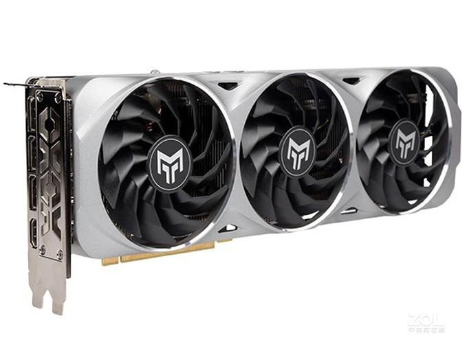 影驰GeForce RTX 3070 金属大师