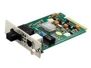 一舟10/100/1000M单模单纤卡式光纤收发器SSD1000-20-X
